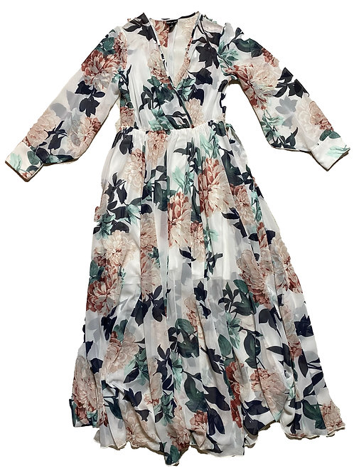 Kate and Lilly floral maxi dress