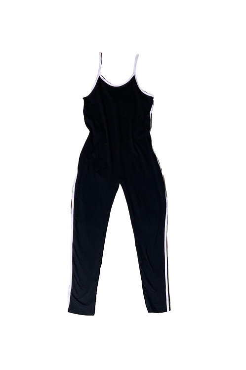 Fashion Nova black tank jumpsuit