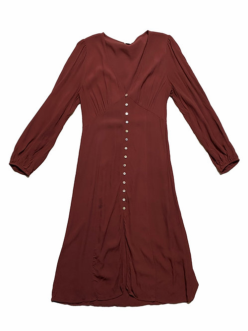 Wilfred Burgundy dress