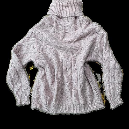 Soft Wool oversized turtleneck