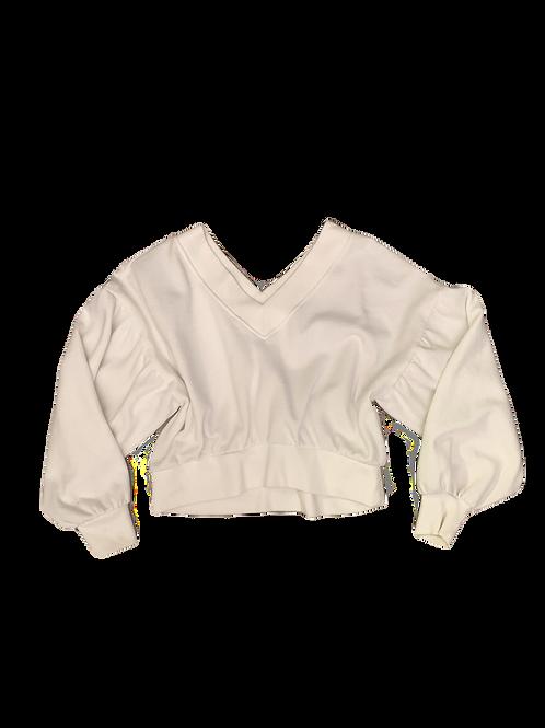 F21 Off shoulder sweater