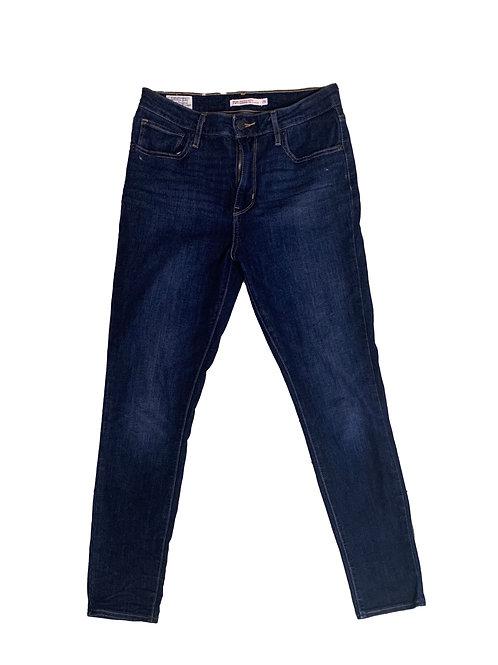 Levi's 721 dark blue hirise skinny jean