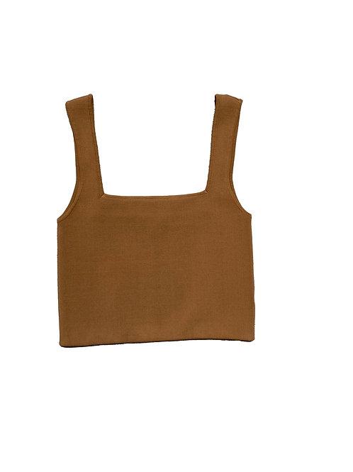 Shona Joy mustard brown tank