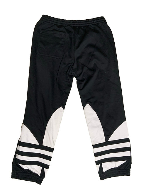Adidas black cotton graphic jogger sweatpants