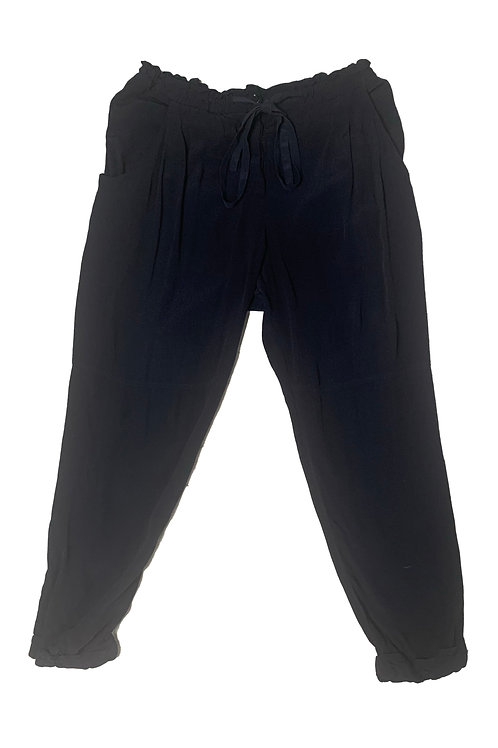 Babaton black loose trouser
