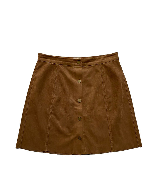Wilfred free suede skirt
