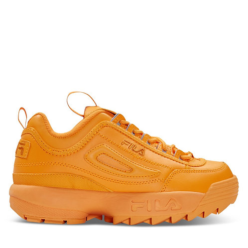 Fila orange disruptor II shoes