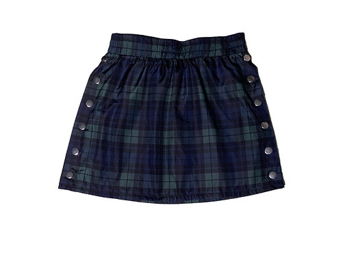 Forever 21 green and navy plaid skirt