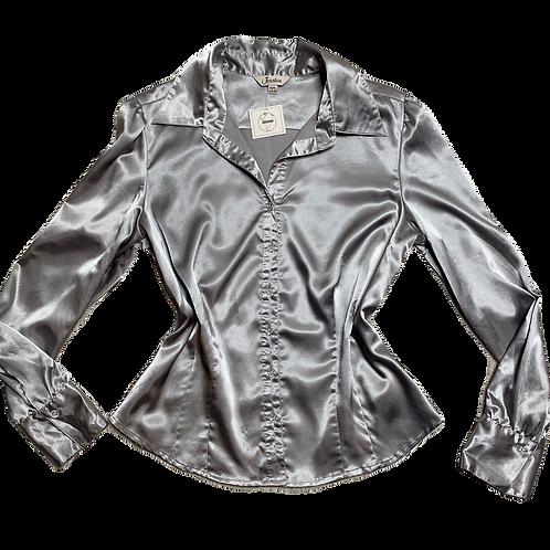 Jessica silver blouse