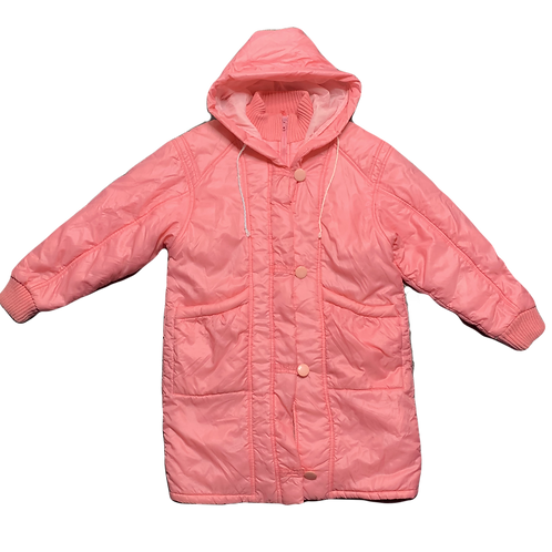 Pink puffer front