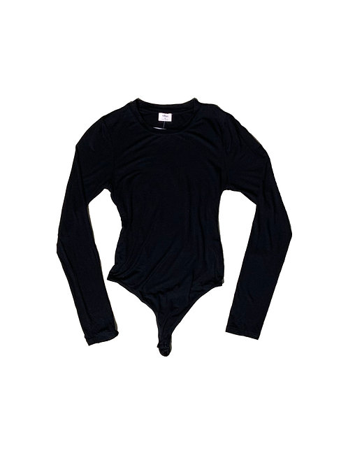 Wilfred black long sleeve bodysuit