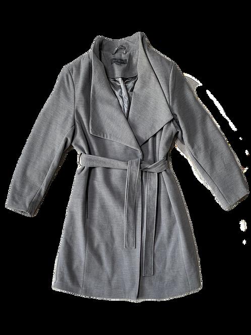 Grey light winter coat