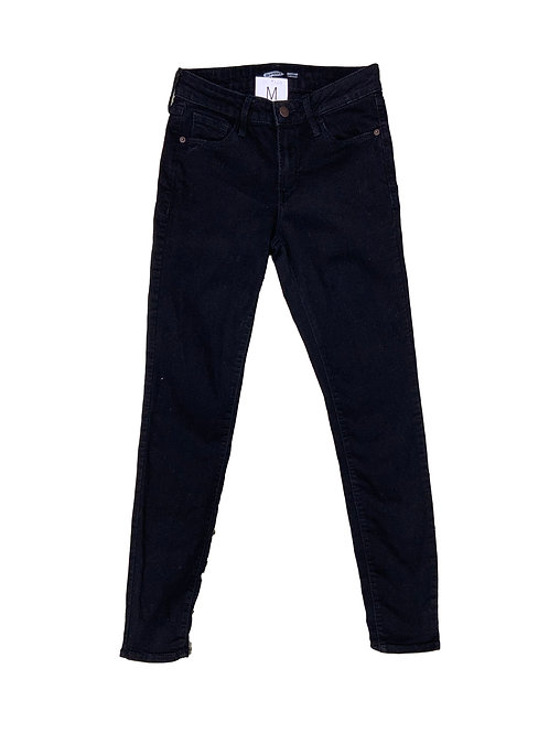Old Navy black super skinny jeans
