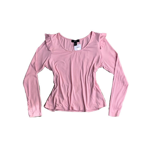 Forever21+ pink long sleeve