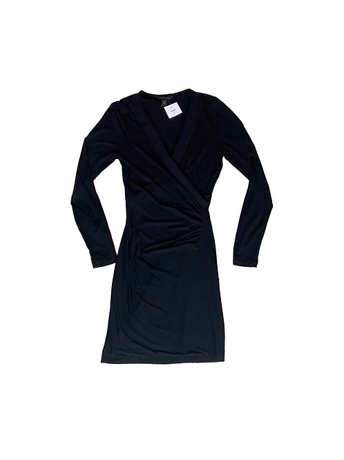 Banana Republic black longsleeve dress