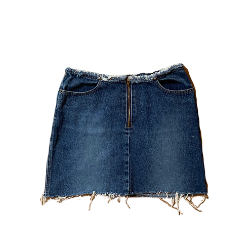 Vintage Armor Jeans denim mini skirt