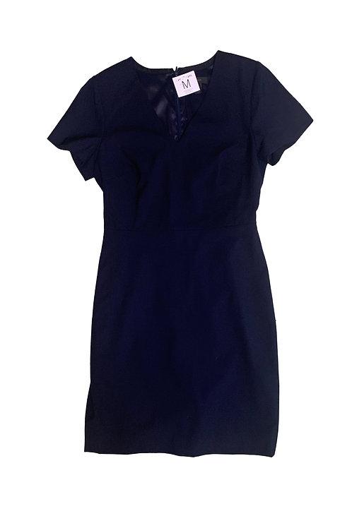 J. Crew navy cocktail dress