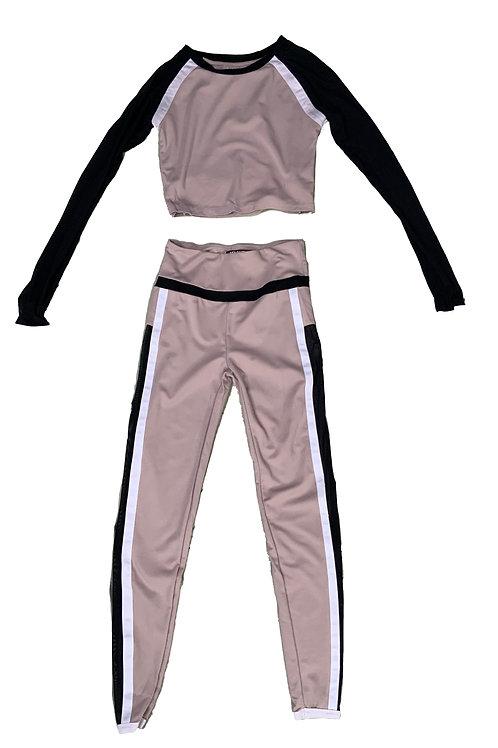 MDVActive 3-toned set (long sleeve & leggings)