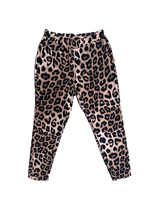 Banana Republic cheetah print dress pant