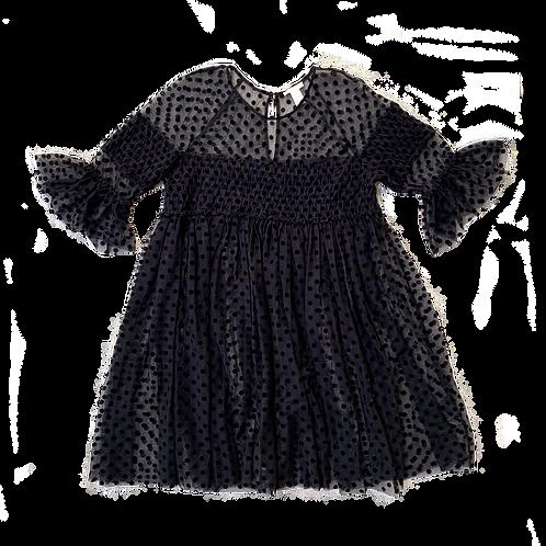 H&M Black polka dot baby doll