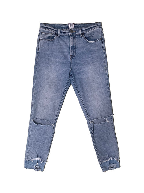 BDG light wash twig high-rise denim