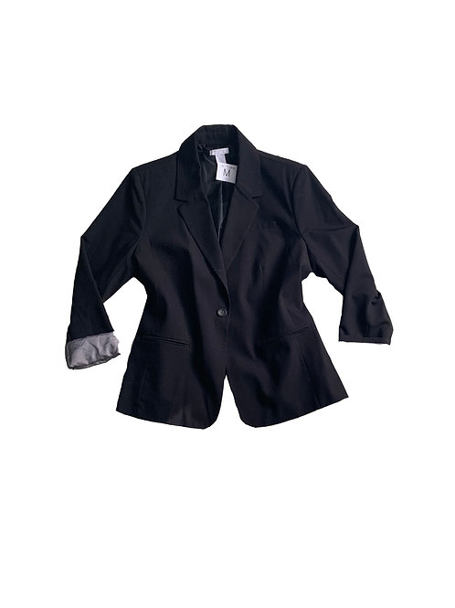 Pure by Alfred Sung black blazer