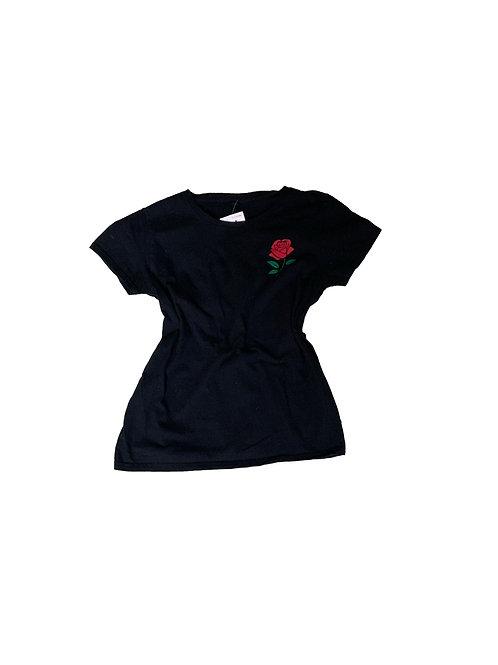 Rose black t-shirt