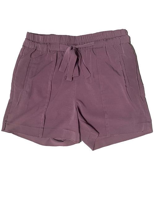 Dynamite mauve tie up shorts