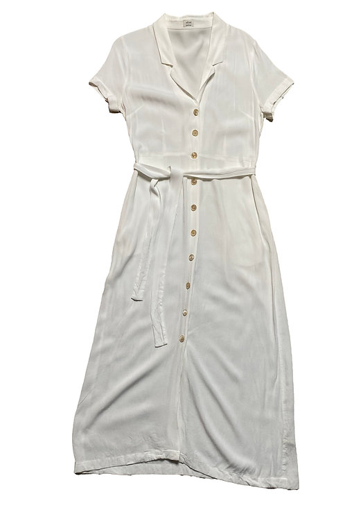 Wilfred white button down dress