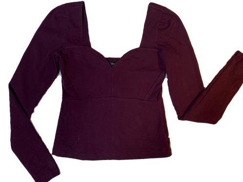 Merlot Sweetheart Long-sleeve