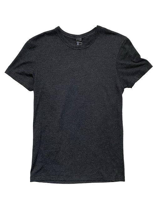 Hanes charcoal plain t-shirt
