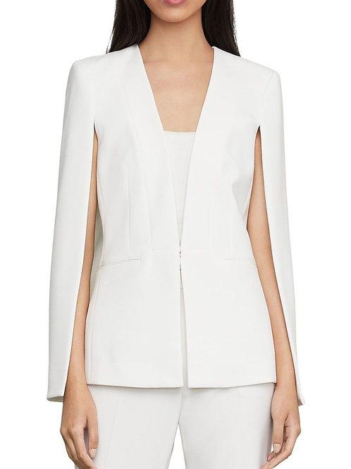 BCBGMaxAzria off-white blazer cape