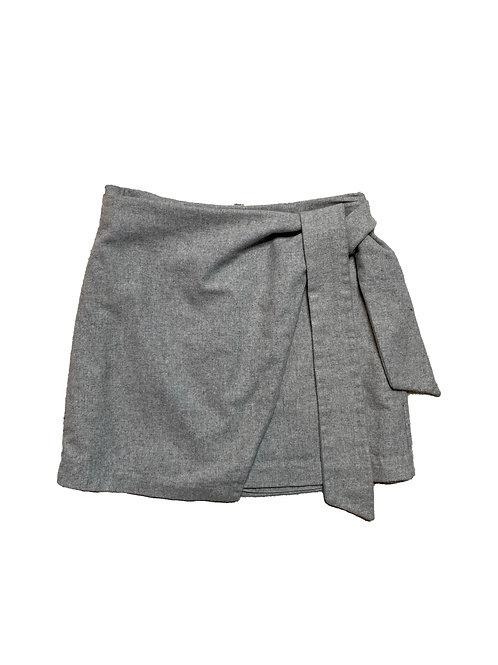 Wilfred grey wool skirt
