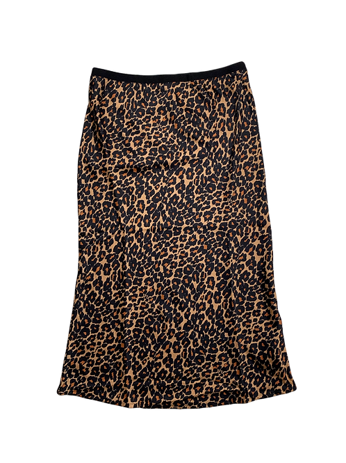 Joe Fresh leopard  medi skirt