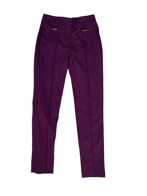 Topshop purple dress pants
