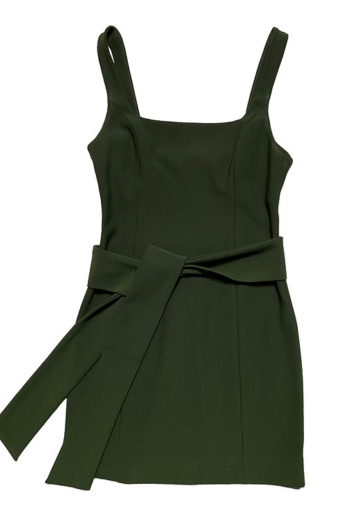 Shona Joy green dress