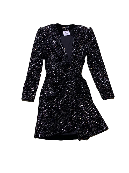 Maje sequin cocktail dress