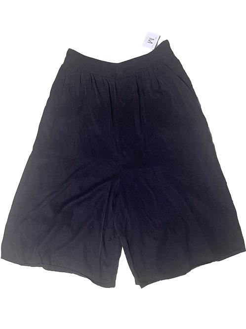 Eve Gravel wide leg culottes