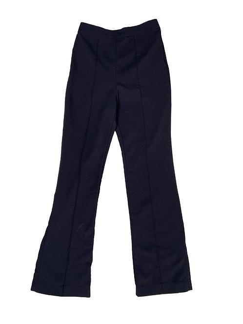 H&M black flared leg dress pants