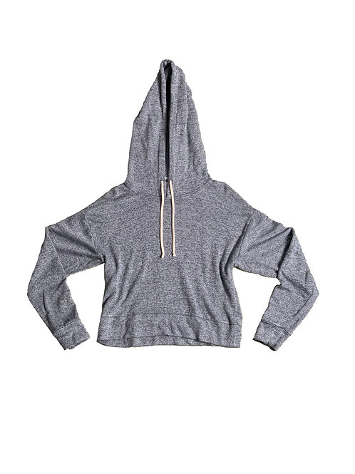 Community grey marl hoodie