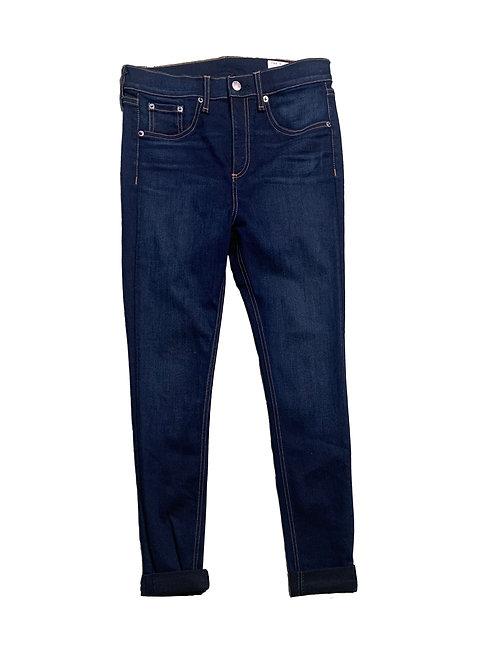 Rag & Bone dark wash blue skinny jeans