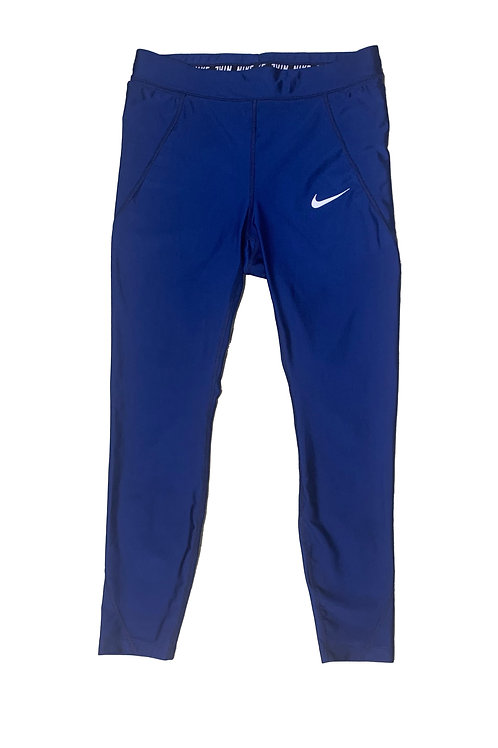Nike dark blue althetic tights