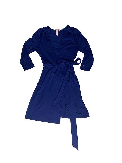 Banana Republic blue wrap dress