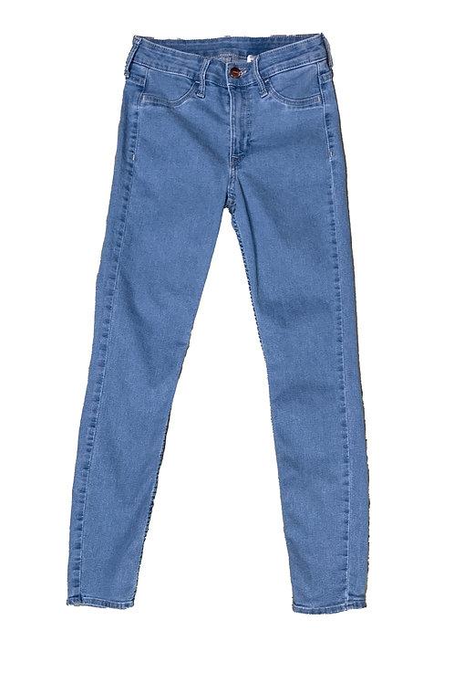 Forever21 light washed skinny jeans