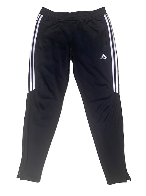 Adidas black and white joggers