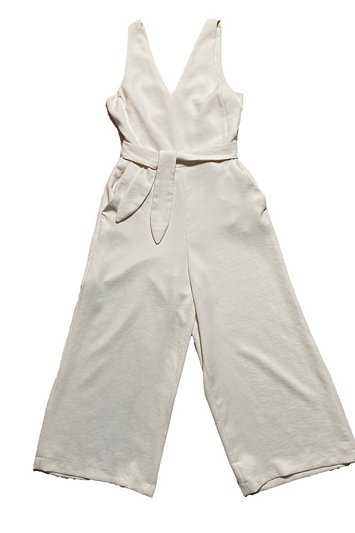 Wilfred cream jumpsuit