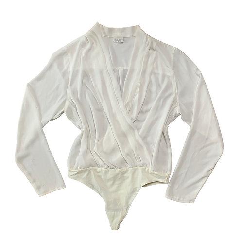 Babaton white bodysuit