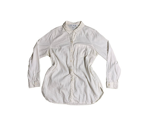 Old Navy white button down long sleeve