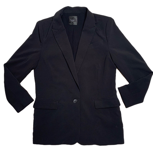 Black Basic Blazer