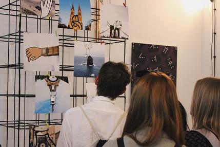 Exhibition in VNITROBLOCK